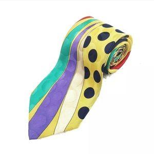 Vintage Versace V2 Men's Neck Tie 100% Silk Italy
